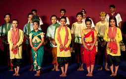 Dance Show, Cambodia Royalty Free Stock Images