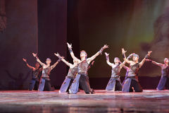 Dance show fishermen pray for good weather Stock Images