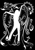 Dance silhouette Stock Photo