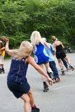 Dance Skaters Royalty Free Stock Photos