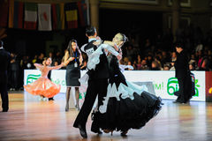 Dance sport competition Stock Image