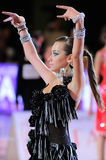 Dance sport competition Stock Images