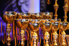Dance sport competition Royalty Free Stock Photos