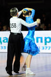 Dance sport competition Royalty Free Stock Photography