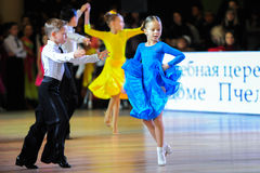 Dance sport competition Stock Photo
