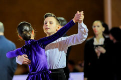 Dance sport competition Royalty Free Stock Images