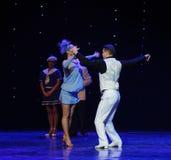 The dance steps twist-Retro dance-the Austria's world Dance Royalty Free Stock Photos