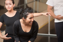Dance Student Laughing Stock Photo