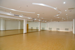 Dance studio. With no people ,which taken in a school of china royalty free stock image