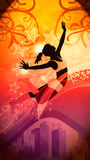 Dance style background Stock Photography