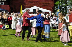 Dance in Sweden Stock Photography
