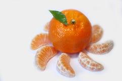 Dance of tangerines Stock Photos
