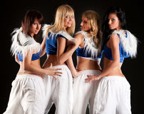 Dance team Stock Images