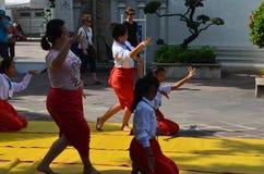 Dance Thailand. In wat pho,bangkok thailand Royalty Free Stock Images