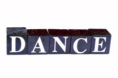 Dance to be fit stock photography