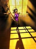 Dance training Royalty Free Stock Photos