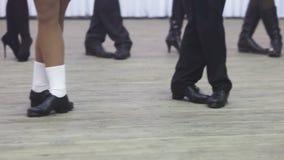 Dance training stock video