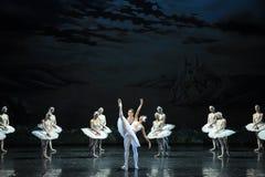 Dance trippingly -ballet Swan Lake Stock Photos