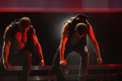 The dance troupe Chippendales performance Royalty Free Stock Image