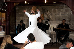 The dance Whirling Dervishes Royalty Free Stock Photo