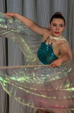 Dance with wings in the contest Life in dance in the town of Kondrovo, Kaluga region in Russia in 2016. Royalty Free Stock Image