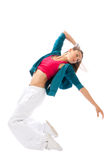Dance woman dancing in modern Royalty Free Stock Photos