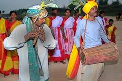 Danceer tribale Immagini Stock Libere da Diritti