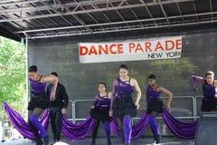 DanceFest 2014 in Stad 17 van New York Royalty-vrije Stock Afbeelding