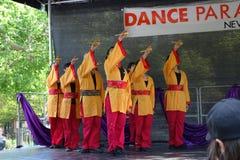 DanceFest 2014 in Stad 20 van New York Royalty-vrije Stock Foto's