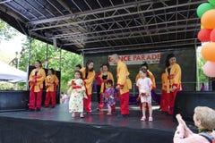 DanceFest 2014 in Stad 21 van New York Stock Fotografie