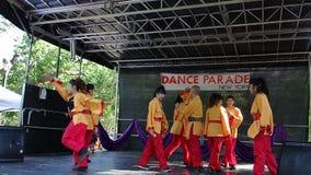 DanceFest 2014 in Stad 120 van New York Stock Foto's