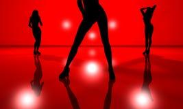 Dancefloor. 3D rendered Illustration Royalty Free Stock Photography