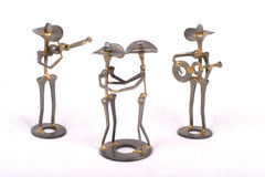 Dancehall Figures. Dancehall Figurines royalty free stock photos