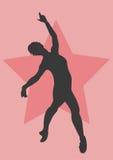 Dancer. A illustration of a dancer stock illustration