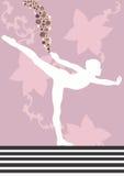 Dancer. A illustration of a dancer royalty free illustration
