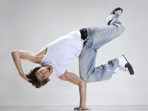 The dancer. Stylish and cool looking dancer posing Stock Photography