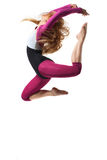 Dancer. Stylish and young modern style dancer is posing royalty free stock images