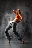 The dancer royalty free stock image