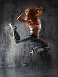 The dancer Royalty Free Stock Photos