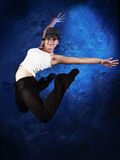 Dancer. Shot of a modern female dancer Royalty Free Stock Image