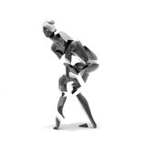 Dancer woman abstract Royalty Free Stock Photo