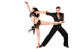 Dancer in action Royalty Free Stock Photo