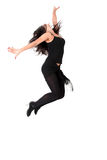 Dancer in action Royalty Free Stock Photos