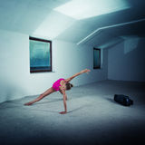 Dancer in the attic Stock Images