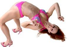 Dancer Back Bend Royalty Free Stock Image