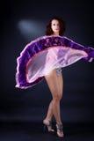 Dancer in ballroom Stock Image