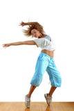 Dancer in ballroom Royalty Free Stock Photo