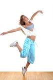 Dancer in ballroom Stock Images