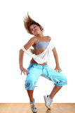 Dancer in ballroom Stock Photo