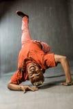 Dancer - bridge Stock Photography